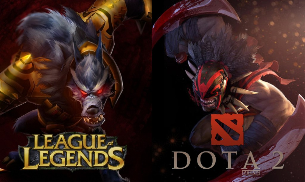 A never-ending battle. League of Legends vs Dota 2 in numbers!
