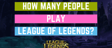 "You've probably asked yourself: ""How many people play League of Legends?"" Well, we managed to find the official numbers. Here's a total League of Legends player count"