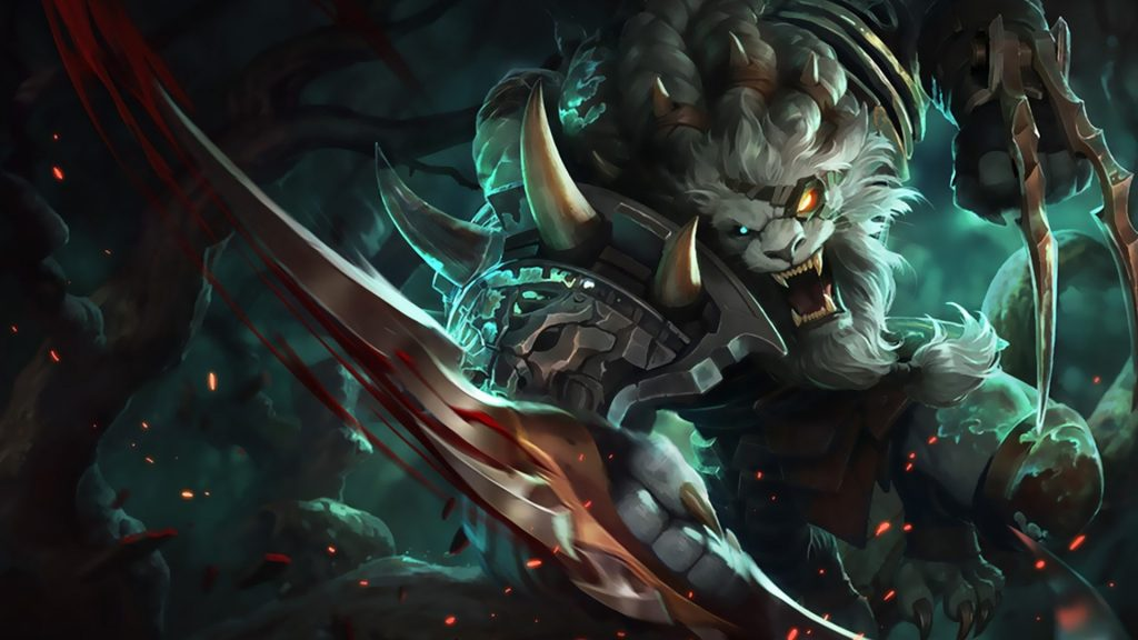TOP 10 League of Legends Champions with the highest AFK ratio