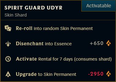 Here's how you can easily disenchant your League skins into Essence