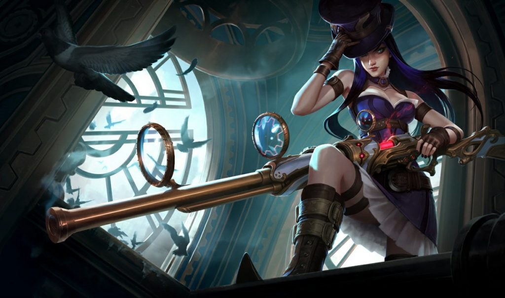 Caitlyn can easily poke her enemies in the lane thanks to extra long range. She has definitely earned a spot on the list of the 5 best ADC champs in Patch 10.15