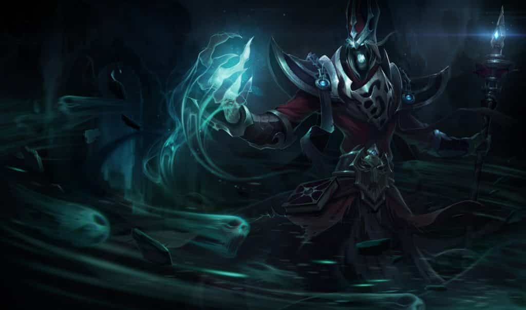 Karthus deals massive damage in the late game with his ultimate ability. His ultimate stacks so well plus he can clear jungle without breaking a sweat. That's why he's on #4 on our list of the 5 strongest junglers in Patch 10.15
