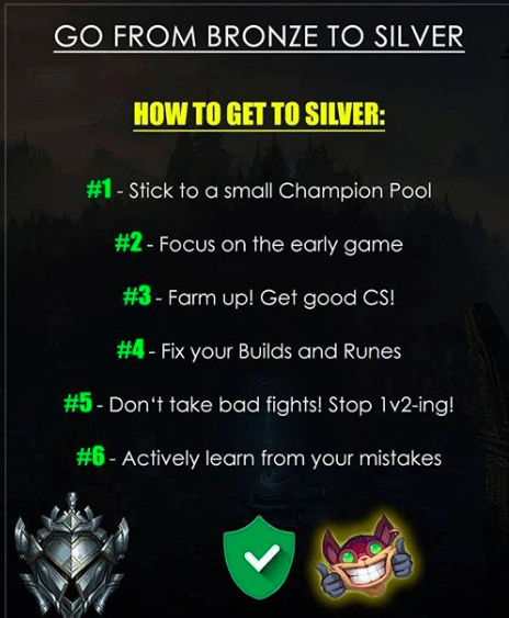 Lots of players are having a hard time when they want to get out of Bronze. They always blame their team mates, but that's just not true. Here's how to get out of Bronze once and for all!