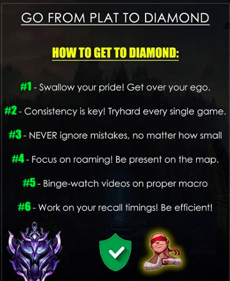 Here are some quick and easy ways on how to easily escape Platinum and eventually climb in the Diamond rank on the ranked ladder