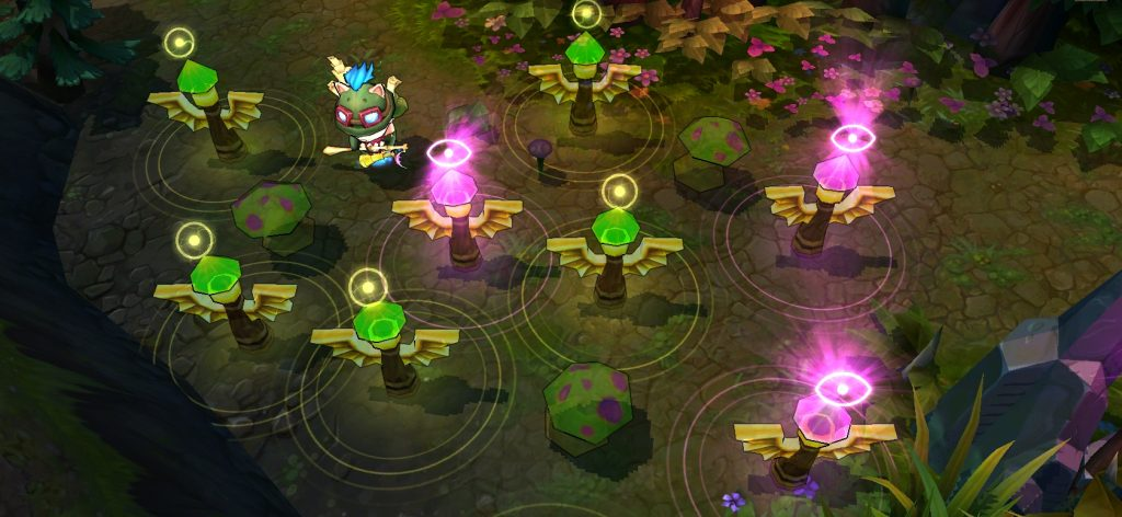 What are wards in League of Legends and how can I use them to improve my rank?