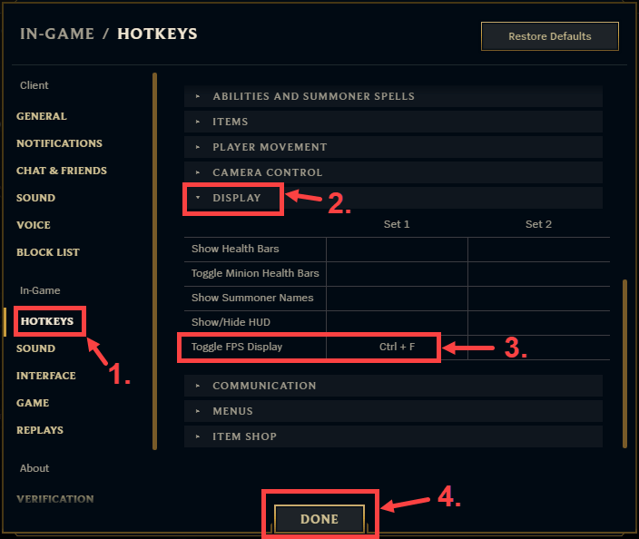 It can be very annoying when you accidentally turn off the ping status in your game. Luckily, we found a solution to that problem. Here's how to display ping and FPS in League of Legends
