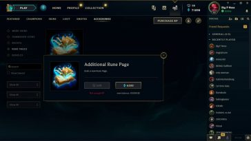 If you've been playing League for a while, you know how annoying can rune pages be. Sometimes it just feels like we dont have enough options when we have only 2 rune pages. Luckily, we can buy more of them. Here's How to buy more Rune Pages in League of Legends!