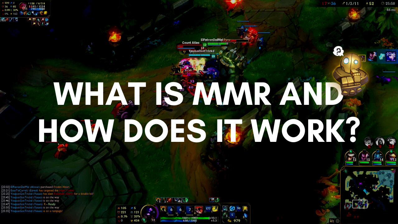 Have you ever came across a term MMR (Matchmaking Rating) while playing ranked games in League of Legends? MMR and LP can be a bit confusing for new players, but fear not because we have wrote a tutorial on what is MMR and how does it work