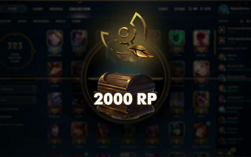 Riot Points, or RP, is a virtual currency in League of Legends which can be used to get new skins and some to make certain changes on the profile