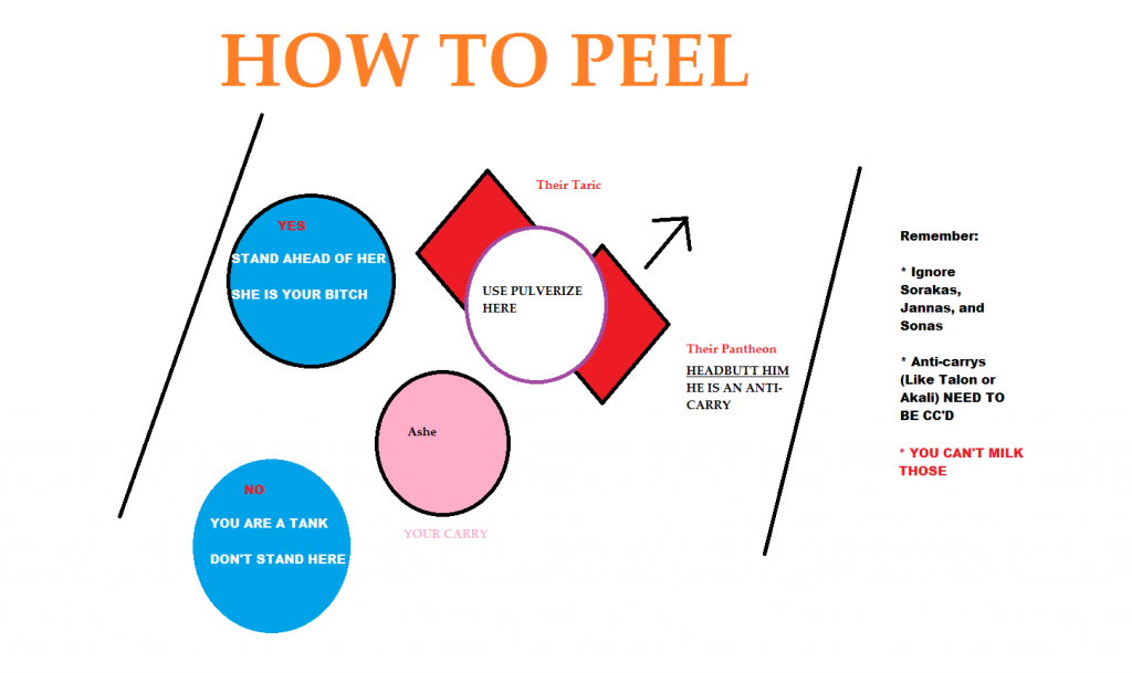 If you're a fairly new to League, you may wonder what does Peeling mean in League of Legends. Luckily for you, we have decided to dedicate some time to write up this article to explain you the art of peeling in LoL