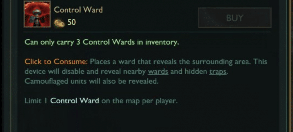 You should always have on active control ward placed by you on the map. That's a golden rule which you need to respect if you want to climb the ranked ladder