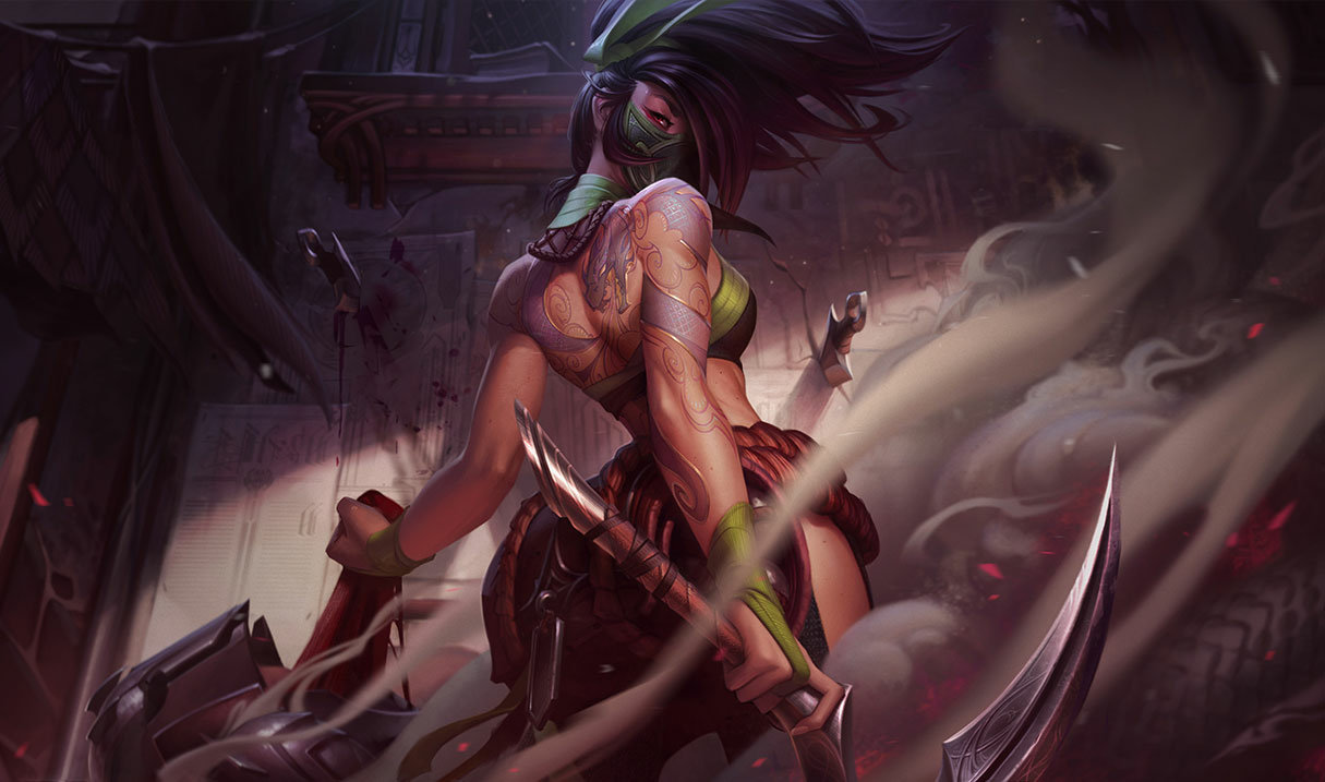Akali is so weak at the moment. It's just not worth to play Akali anymore. You should play her only if you've been playing her a lot before