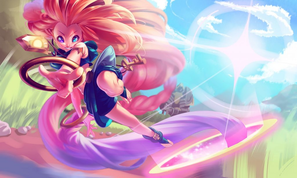 Zoe is an ultimate assassin champion that can one-shot enemies in a blink of an eye. She's very underrated in low elo, but she does wonders once she's mastered
