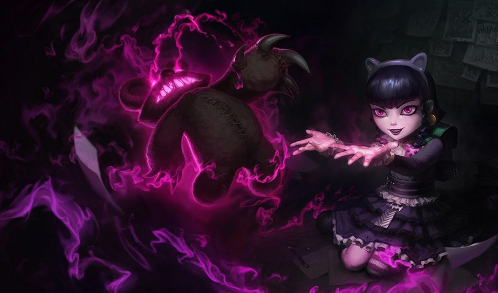 Annie looks cute and innocent, but once she's in the mid lane, everybody gets scared of her. She has a stun and great AoE damage, which makes her one of the strongest mid lane champions in Patch 10.19