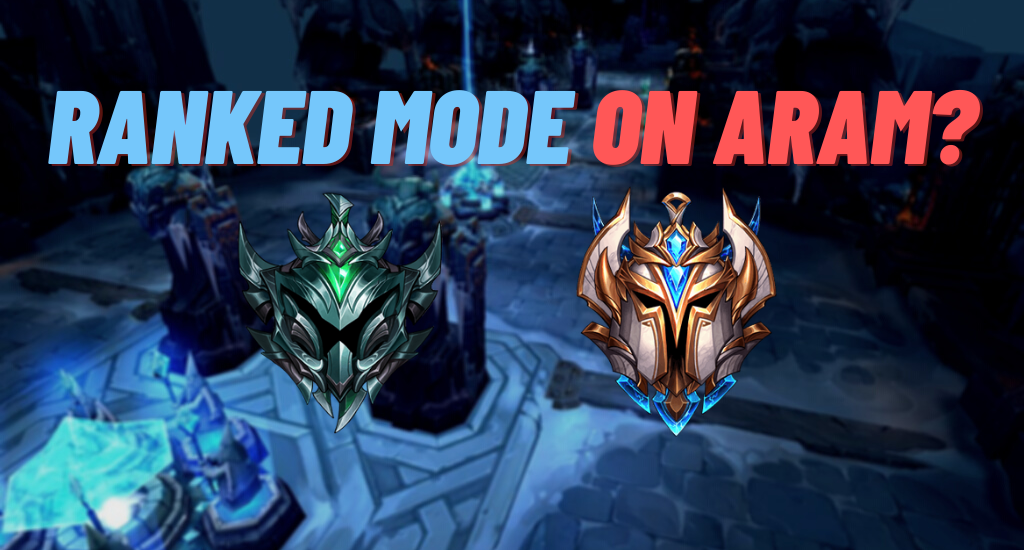 A lot of players would love to see the ranked mode on ARAM, but Riot Games have said that they don't planned to implement the ranked mode on ARAM, for now.