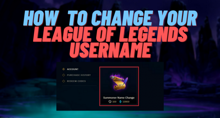 Tired of having your old username? Luckily, you can change your Summoners name quite easily, but it won't be for free!