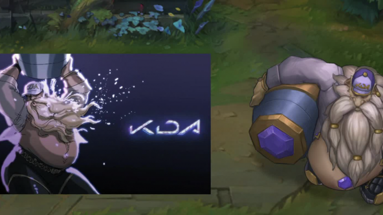 KDA Gragas is probably the most wanted skin in the history of League of Legends. Many League players demand from Riot to release this beautiful and funny skin. However, we still don't know if they ever will...