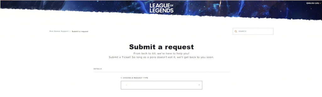 In this step we'll be explaining you how to successfully delete your League of Legends account for good. Be aware that you won't be able to recover your LoL account after you do this.