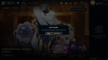 If you haven't played League for a while, you're probably confused with the new client and new website design. Here's how you can easily log out of League of Legends in a blink of an eye