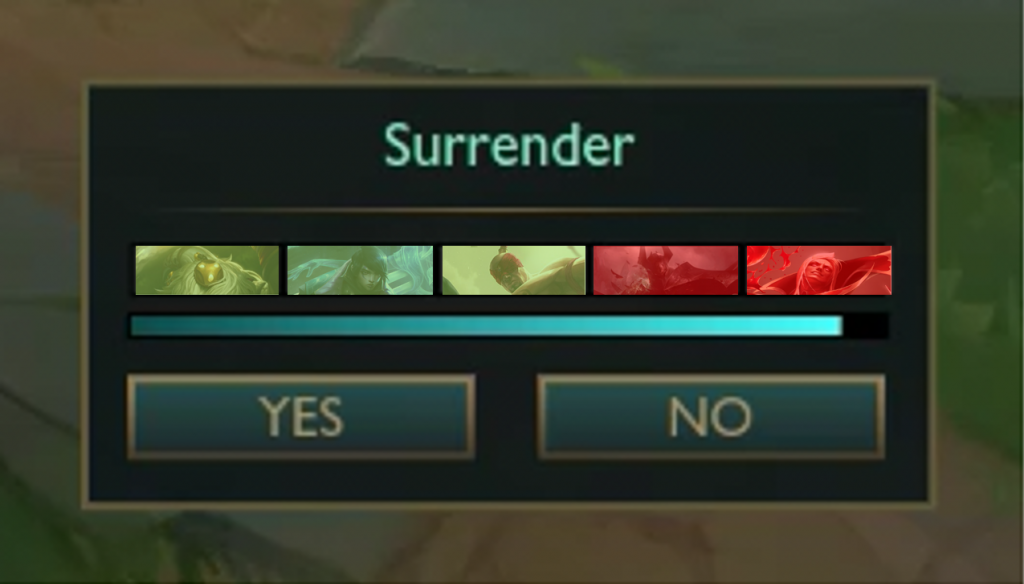 Riot Games have finally decided to proclaim a war against the toxic and inting players in League of Legends. They've recently announced a whole new system for surrender which will, hopefully, put an end on them.