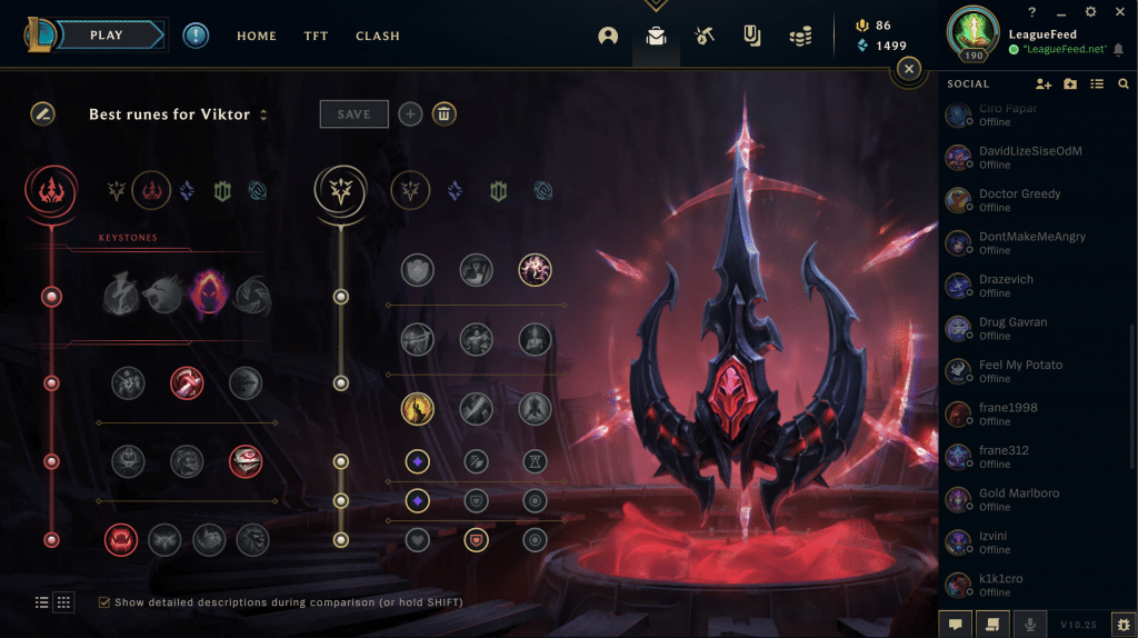 Sure, Dark Harvest is not very OP in the Summoners Rift if you don't get enough stacks, but it's a completely different story on ARAM. There are usually more kills in ARAM games than in Summoner Rift ones, which means that Dark Harvest is the best rune path for Viktor in ARAM. We've explained why each of these runes is the perfect choice for him, and we sincerely believe that you can't go wrong if you choose to follow our guide!