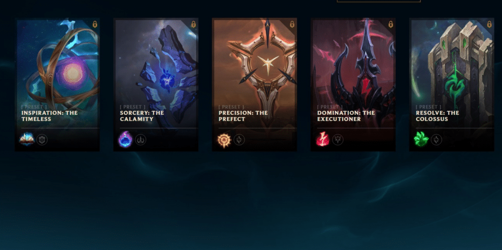 Here are the 5 free-to-use rune pages!
