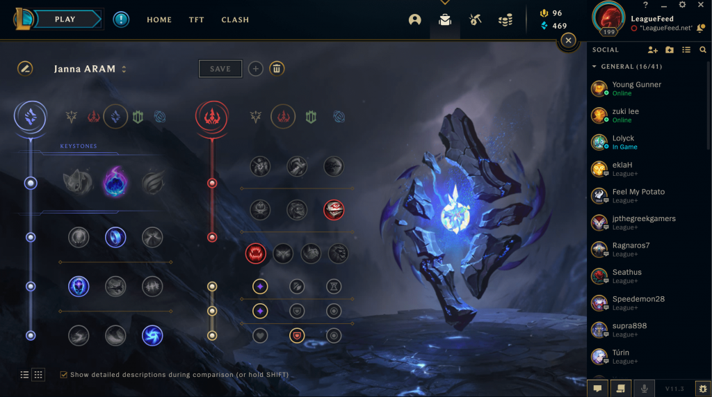 Janna is one of the most underrated champions in League of Legends, and to be honest, we like it that way because nobody understands how truly powerful she is! Once you learn how to use her Q effectively, she's one of the best supports in the game. Here are the best runes for Janna in ARAM!