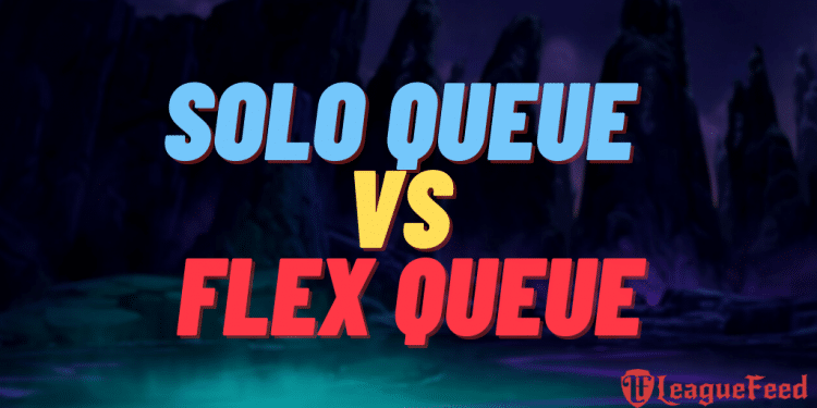 There are a couple of main differences between the solo/duo queue and the flex queue in the League of Legends ranked system. In this article, we've covered everything there is to cover about both the solo Queue and the Flex queue. We've listed the pros and cons of the each queue!
