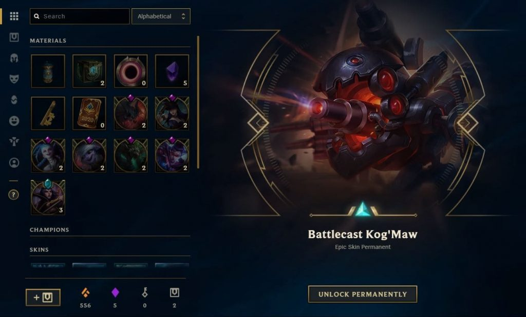 Loot System, or better known as Hextech Crafting is probably the best thing Riot have ever done! With the Hextech crafting you can get lots of free skins in League of Legends!