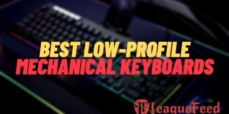 Are you tired of those big and annoying keyboards that take too much space and hurt your wrists? Well, then you should really consider getting yourself a low profile mechanical keyboard! These keyboards are excellent for your wrists, and they don't take too much of your precious space. Here's the list of the best low-profile keyboards in 2021!