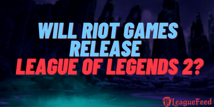 Many League of Legends players have been asking themselves if Riot Games will ever release a 2nd version of League of Legends. We've found all the details, and oh boy do we have an interesting answer for you!
